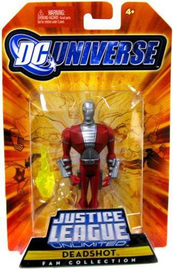 DC Universe Justice League Unlimited Fan Collection Deadshot Action Figure