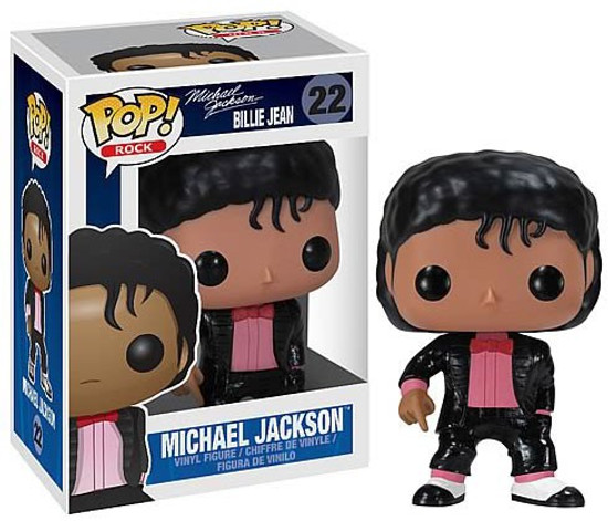 Funko POP! Rocks Michael Jackson Vinyl Figure #22 [Billie Jean]
