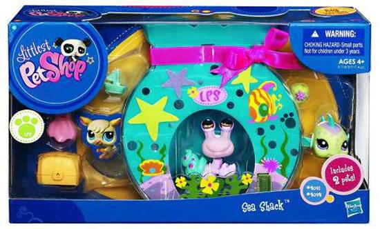 Littlest Pet Shop Sea Shack Exclusive Playset