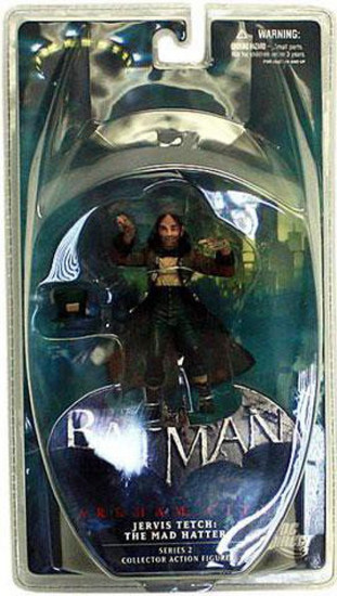 Batman Arkham City Series 2 Jervis Tetch the Mad Hatter Action Figure