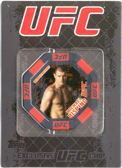 UFC Topps Main Event Michael Bisping Exclusive Poker Chip #8