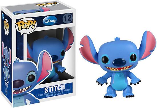 Funko Lilo & Stitch POP! Disney Stitch Vinyl Figure #12