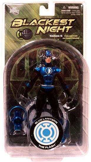 DC Green Lantern Blackest Night Series 6 Blue Lantern The Flash Action Figure