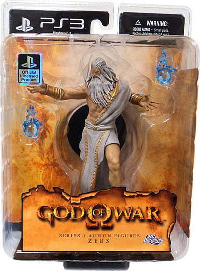 God of War Zeus Action Figure