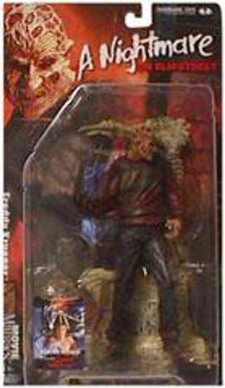 McFarlane Toys Nightmare on Elm Street Movie Maniacs Series 4 Freddy Krueger Action Figure