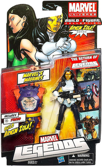 Marvel Legends Arnim Zola Series Madame Masque Action Figure [White & Blue Suit]