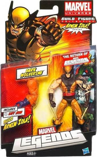Marvel Legends Arnim Zola Series Dark Wolverine Action Figure [Masked]
