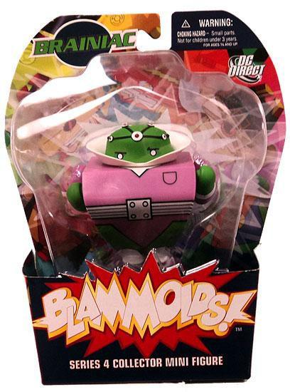 DC Blammoids Series 4 Braniac Mini Figure