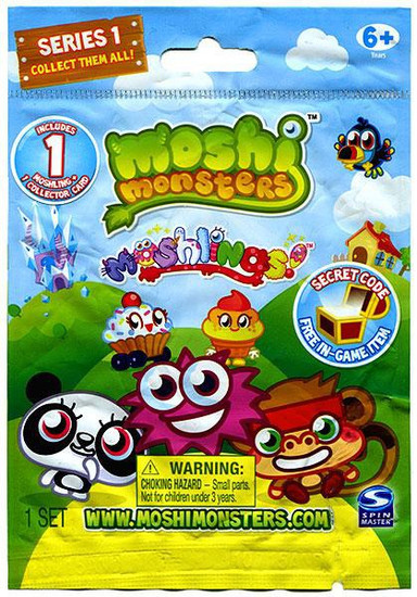 Moshi Monsters Moshlings Series 1 Mini Figure Single Pack