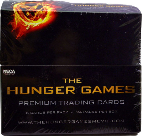 NECA The Hunger Games Trading Card Box [24 Packs]