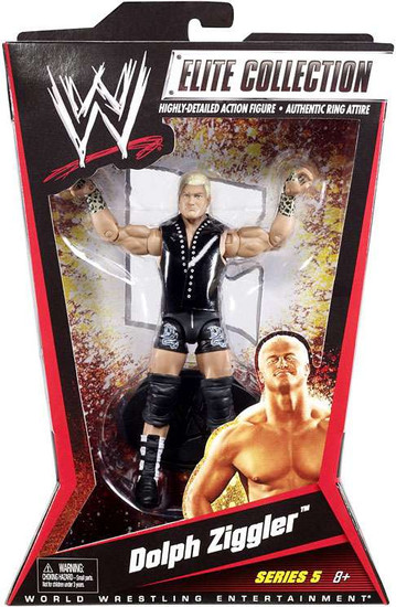 WWE Wrestling Elite Collection Series 5 Dolph Ziggler Action Figure