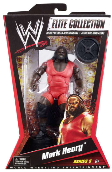 WWE Wrestling Elite Collection Series 5 Mark Henry Action Figure