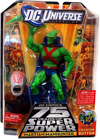 DC Universe 75 Years of Super Power Classics Validus Series Martian Manhunter Action Figure [J'onn J'onzz]