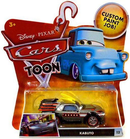 Disney / Pixar Cars Cars Toon Main Series Kabuto Diecast Car #12