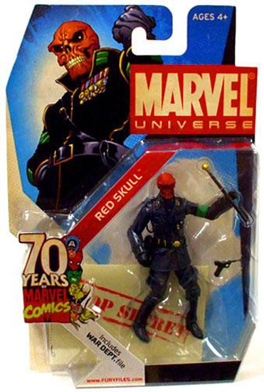 Marvel Universe 70 Years of Marvel Comics Red Skull Exclusive Action Figure SD4