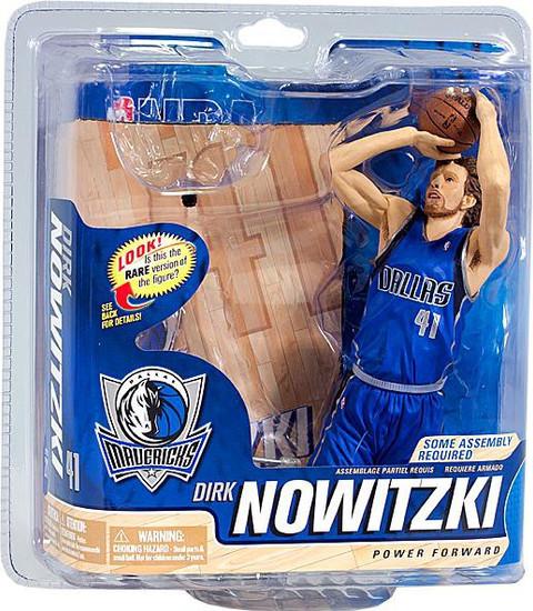 McFarlane Toys NBA Dallas Mavericks Sports Picks Series 21 Dirk Nowitzki Action Figure [No Trophy]