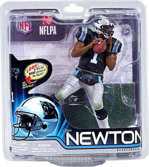 McFarlane Toys NFL Carolina Panthers Sports Picks Series 31 Cam Newton Action Figure [Black Jersey]