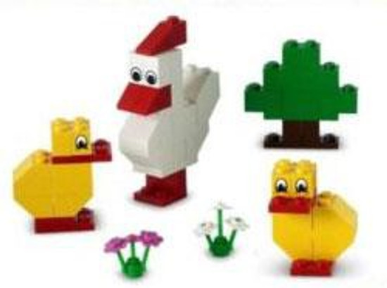 LEGO Chicken & Chicks Mini Set #10169 [Bagged]