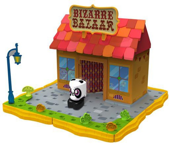 Moshi Monsters Bobble Bots Bizarre Bazaar with ShiShi Playset [500 Rox]