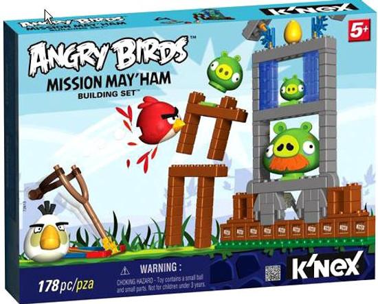 K'NEX Angry Birds Mission May'ham Set #72613