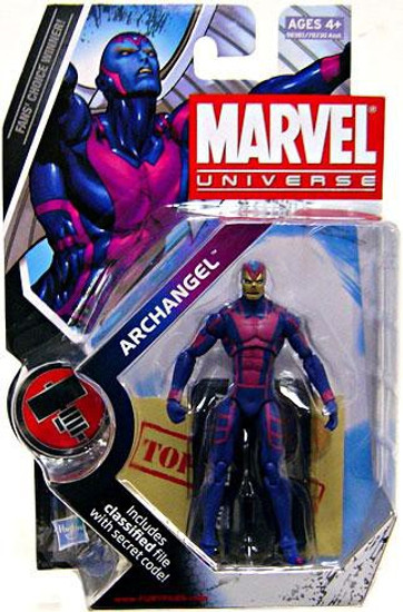 Marvel Universe Series 8 Archangel Action Figure #15 [Gold Face]