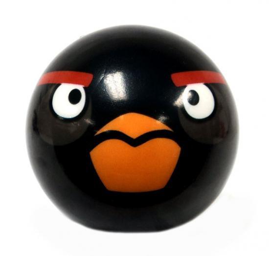 Angry Birds Black Bird 3-Inch Foam Ball