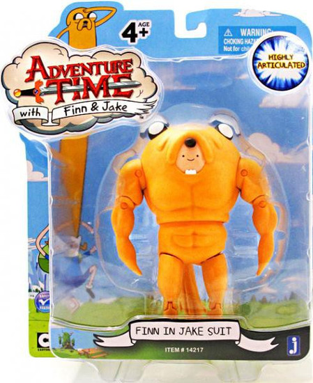 Adventure Time Finn Action Figure [Jake Suit]