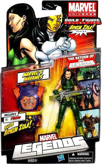 Marvel Legends Arnim Zola Series Madame Viper Action Figure [Green Suit Variant]