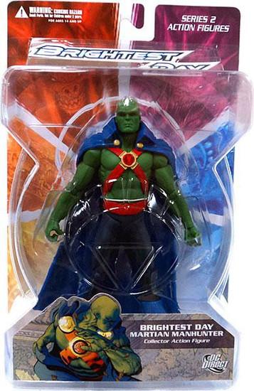 DC Green Lantern Brightest Day Series 2 Brightest Day Martian Manhunter Action Figure
