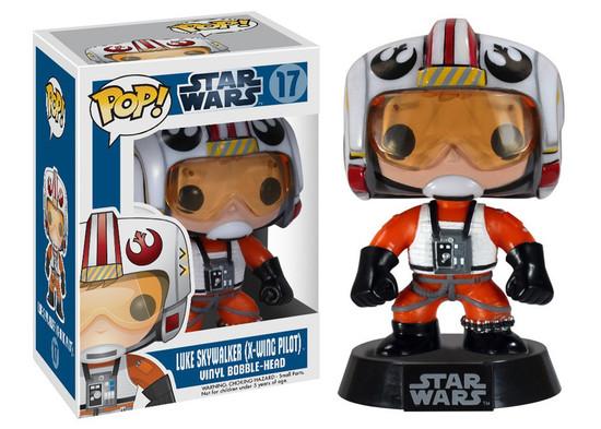 Funko POP! Star Wars Luke Skywalker Vinyl Bobble Head #17 [X-Wing Pilot]