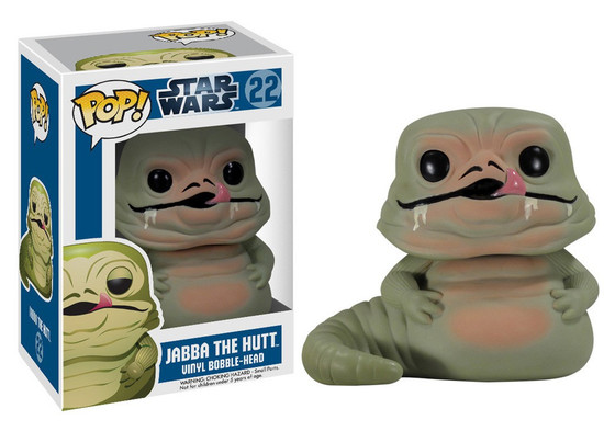 Funko POP! Star Wars Jabba The Hutt Vinyl Bobble Head #22