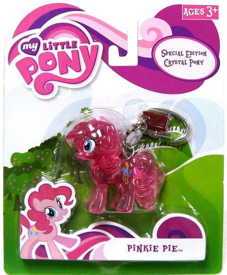 My Little Pony Friendship is Magic Special Edition Crystal Ponies Pinkie Pie Keychain