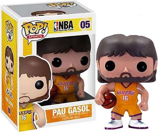Funko NBA POP! Sports Basketball Pau Gasol Vinyl Figure #05