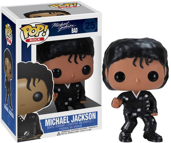 Funko POP! Rocks Michael Jackson Vinyl Figure #25 [Bad]