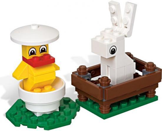 LEGO Bunny & Chicks Mini Set #40031 [Bagged]