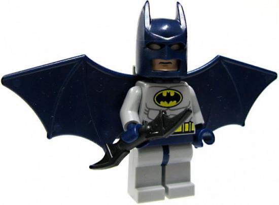 LEGO DC Universe Super Heroes Batman Minifigure #1 [With Jetpack Loose]