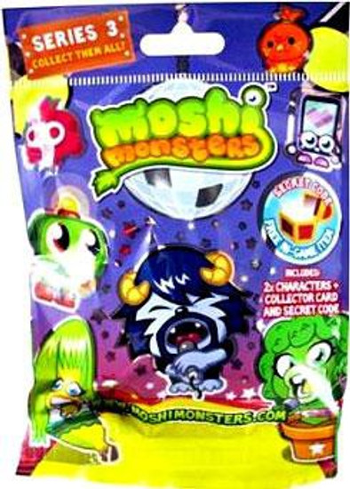 Moshi Monsters Moshlings Series 3 Mini Figure 2-Pack