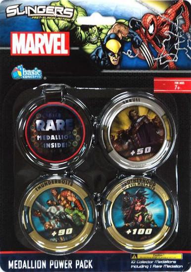 Marvel Slingers Medallion Power Pack
