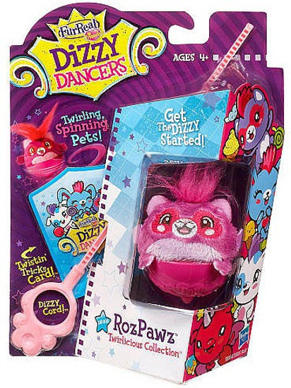 FurReal Friends Dizzy Dancers Twirlicious Collection RozPawz Figure