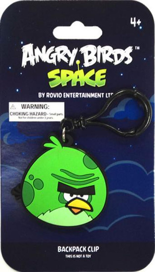 Angry Birds Space Monster Bird PVC Backpack Clip