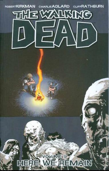 Image Comics The Walking Dead Volume 9 Trade Paperback [Here We Remain]