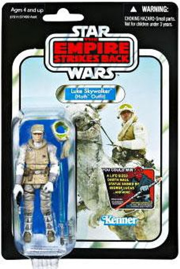 Star Wars The Empire Strikes Back 2012 Vintage Collection Luke Skywalker Action Figure #95 [Hoth Outfit]