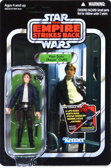 Star Wars The Empire Strikes Back 2012 Vintage Collection Han Solo Action Figure #50 [Bespin Outfit]