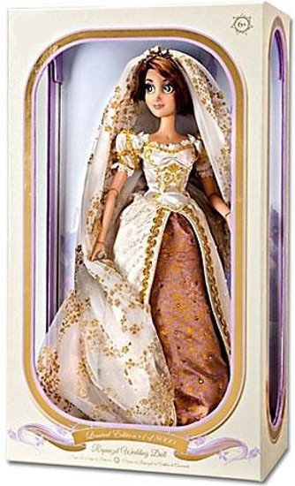 Disney Tangled Ever After Royal Wedding Rapunzel Exclusive 17-Inch Doll