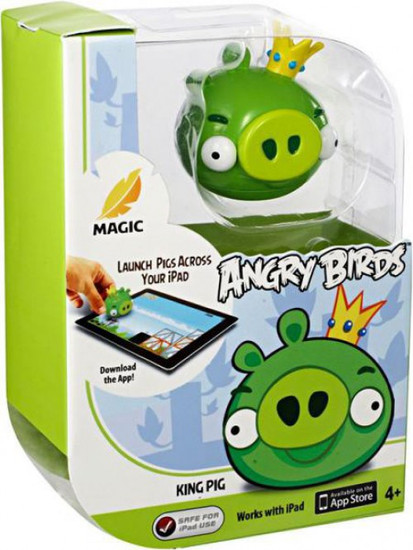 Angry Birds Apptivity King Pig Figure Pack