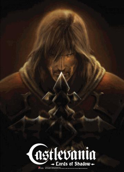 Castlevania Lords of Shadow Gabriel Stare Wall Scroll