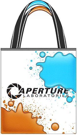 Portal 2 Aperture Laboratories Tote Bag