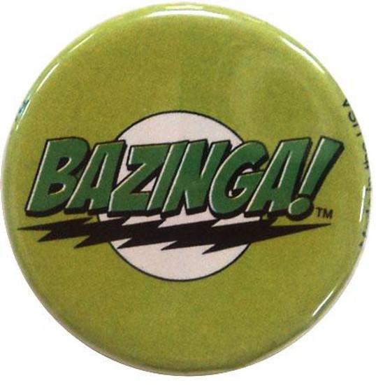 Funko The Big Bang Theory Bazinga! Logo Pin [Green]
