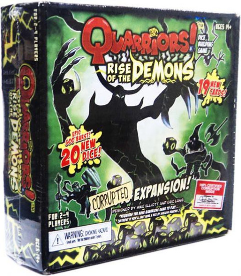 Quarriors Rise of the Demons Dice Building Game Expansion