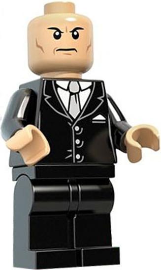 LEGO DC Universe Super Heroes Lex Luthor Minifigure [Black Suit Loose]